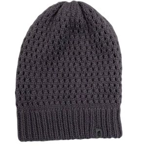 The North Face Purple Knit Thick Warm Beanie OS